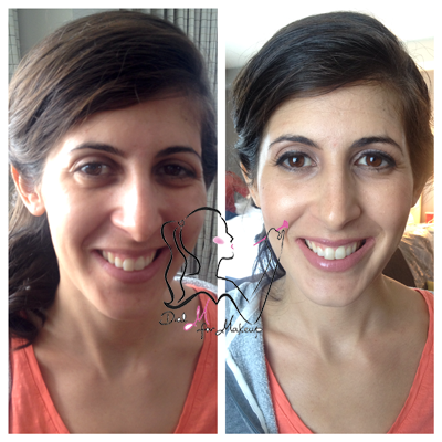Before and after Pictures - Make up Specialist