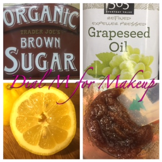 Organic Brown Sugar & Grapeseed Oil for Make Up