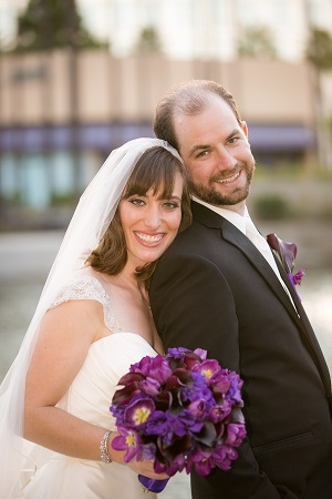 Gail and Joseph at the Wyndham, Costa Mesa